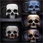 CREEX™ Halloween Skull Cup Coffee Mug Gothic【BUY 2 FREE SHIPPING】