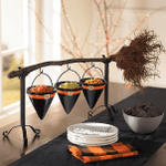 CREEX™ Broomstick Snack Bowl Stand【BUY 2 FREE SHIPPING】