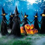 CREEX™ Lighted Halloween Witch Stake For Halloween Decoration【BUY 2 FREE SHIPPING】