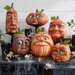 CREEX™ Halloween Handmade Expressive Pumpkin【🎃BUY 2 FREE SHIPPING】