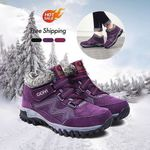 【FREE SHIPPING】OBIVER™ Unisex Snowy Windproof Waterproof Ankle Suede Boots