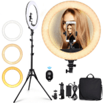 KICO™ LED Phone Stand Holder Dimmable Ring Studio Light【FREE SHIPPING】