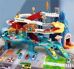 HAPPYKID™ Race Track Car Dinosaur Set For Kids【FREE SHIPPING】