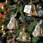SPETE™ Memorial Christmas Ornament Angel Wings Bell