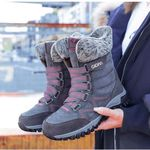 OBIVER™ Windproof Waterproof Suede Hi-Top Winter Boots【FREE SHIPPING】