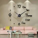 3D DIY Wall Clock - 4 TYPES 3 COLORS - Best Seller