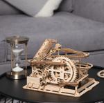 4 Kinds Marble Run DIY Waterwheel Wooden Model Puzzle