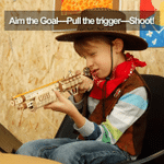 3D Wooden Gun Building Blocks DIY Revolver and Shootgun Puzzle - Best Seller