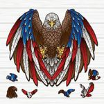 Premium Wooden Animal Jigsaw Puzzle (PROUDLY MADE IN USA)
