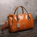 Beverly™ - Classical Retro Leather Multi Pockets Women Handbag