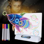 3D Magic Drawing Board (with 3D glasses) - Fun And Developing Toy - BEST SELLER