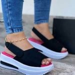 Women's Comfy Sports Knit Sandals