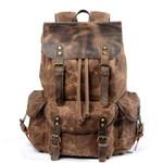 Premium Leather Continental Rucksack