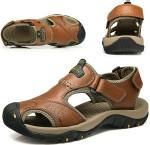 🔥 HOT SALE 🔥 Men Leather Hiking Sandals
