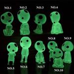 Luminous garden ghost miniature figurines
