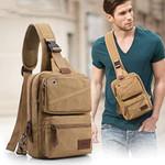 Hector™ -  Vintage Retro Style Canvas Crossbody Sling Bag