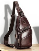 Leonidas™ -  Men's Genuine Leather Sling Bag