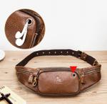 Jake™ -  Men's Genuine Leather Fanny Pack Small Shoulder Waist Bag