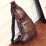 Edwin™ -  Men's Vintage Cowhide Sling Bag