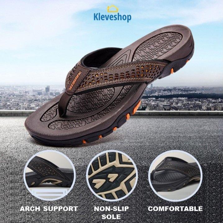 Rafael™ - Mens Sport Flip Flops Comfort Casual Thong Sandals Outdoor