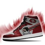 Copy of Jack Skellington San Francisco 49ers NFL Air Jordan Sneakers SJ210910