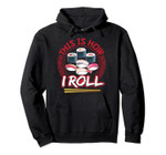 This is How I Roll - I Love Sushi Long Sleeve - Sushi Rolls Pullover Hoodie, T-Shirt, Sweatshirt, Tank Top
