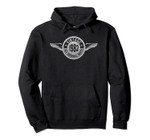 Vintage Made In 1982 Eagle w1 Wing Emblem 38th Birthday Pullover Hoodie, T-Shirt, Sweatshirt, Tank Top