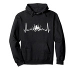 My heart beats for the Octopus - Fun Graphic Pullover Hoodie, T-Shirt, Sweatshirt, Tank Top