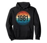 Awesome Since 1981 - 39 Years Old, 39th Birthday Gift Pullover Hoodie, T-Shirt, Sweatshirt, Tank Top