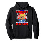 Funny Happy Groundhog Day Trump Supporter Shadow Gag Gift Pullover Hoodie, T-Shirt, Sweatshirt, Tank Top