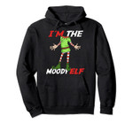 I'm The Moody Elf | Family Christmas Group Matching Pullover Hoodie, T-Shirt, Sweatshirt, Tank Top