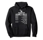 Painter Hourly Rate Funny Gift For Men Labor Rate Gift Idea Pullover Hoodie, T-Shirt, Sweatshirt, Tank Top