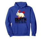 Death Awaits You All Funny Gift Pullover Hoodie, T-Shirt, Sweatshirt, Tank Top