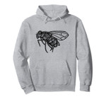 Dark Fly Surreal Tattoo Abstract Gothic Style Design Pullover Hoodie, T-Shirt, Sweatshirt, Tank Top