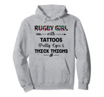 Rugby girl with tattoos pretty eyes and thick thighs Pullover Hoodie, T-Shirt, Sweatshirt, Tank Top