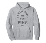 Mean Girls Curved On Wednesdays We Wear Pink Tattoo Text Pullover Hoodie, T-Shirt, Sweatshirt, Tank Top