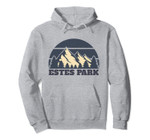 Estes Park Vintage Retro Mountain Vacation Family Group Gift Pullover Hoodie, T-Shirt, Sweatshirt, Tank Top