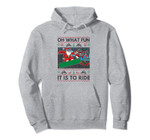 Oh What Fun It Is to Ride Snowboard Christmas Pullover Hoodie, T-Shirt, Sweatshirt, Tank Top