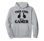 This Girl Is A Gamer Funny Gamer Gift Pullover Hoodie, T-Shirt, Sweatshirt, Tank Top