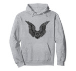 Dark Wings Surreal Tattoo Abstract Gothic Style Design Pullover Hoodie, T-Shirt, Sweatshirt, Tank Top