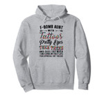 F-bomb aunt with tattoos pretty eyes thick thighs Pullover Hoodie, T-Shirt, Sweatshirt, Tank Top