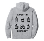 Boba Drink Food Related Gift Funny Foodie Bubble Tea Expert Pullover Hoodie, T-Shirt, Sweatshirt, Tank Top