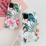 Art Flowers Banana Leaf Phone Case
