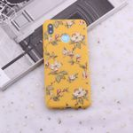 Smart Vintage Floral Flower Art Candy Silicone Phone Case Cover Capa Fundas