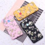 Vintage Floral Flower Art Candy Silicone Phone Case