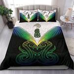 (Custom) Maori Manaia New Zealand Bedding Set Rasta Personal Signature K4
