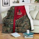 Anzac New Zealand Premium Blanket Lest We Forget Camo- Road to Peace
