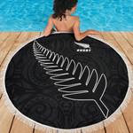 Beach Blanket NZ Silver Fern Rugby K4