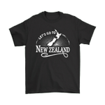 Let Go To New Zealand T Shirt
