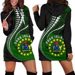 Cook Island Women's Hoodie Dress Kanaloa Tatau Gen CK TH65